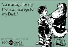 xmas massage
